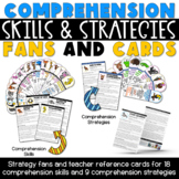 Comprehension Skills and Strategies Fans and Cards