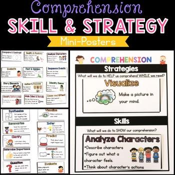 Comprehension Skills and Strategies Mini-Posters