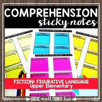 Comprehension Sticky Notes: Figurative Language