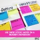 Comprehension Sticky Notes: Inferences and Predictions