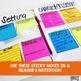 Comprehension Sticky Notes: Vocabulary
