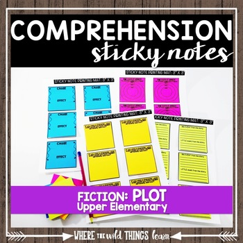 Comprehension Sticky Notes: Plot