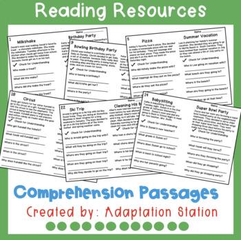 Comprehension Questions