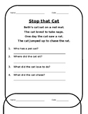 Comprehension Stories with Blends