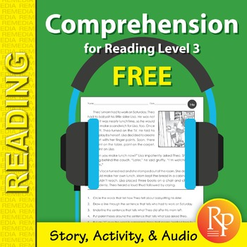 Comprehension Story, Activities, & Audio {Freebie}