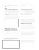 Comprehension Strategies Book Report