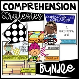 Comprehension Strategies Bundle! Summarizing, Determine Importance, Questioning