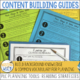Comprehension Strategies Content Building Guides: PLC Plan