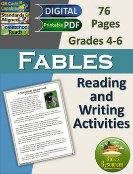 Fables Reading Comprehension and Writing Unit