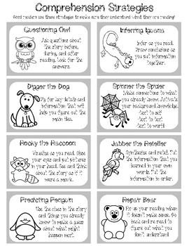 Comprehension Strategies Handout