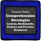 Comprehension Strategies Pack: Lessons, Independent Work, Posters, Bookmarks