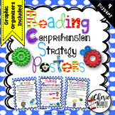 Reading Comprehension Strategies Posters 3rd 4th 5th Graph