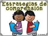 Comprehension Strategies Posters  Carteles de estrategias de comprensión