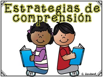 Comprehension Strategies Posters  Carteles de estrategias de comprensión