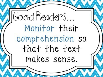Comprehension Strategies Posters, Graphic Organizers and MORE!