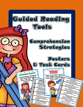 Guided Reading Tools: Comprehension Strategies Posters and