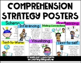 Comprehension Strategies Posters in English