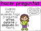 Comprehension Strategies Posters in Spanish