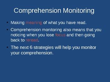 Comprehension Strategies - Powerpoint