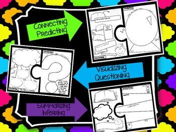 Comprehension Strategies Puzzle - Engaging Assessment for Books!