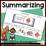 Comprehension Strategy Summarizing