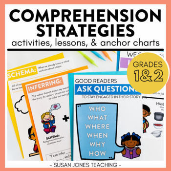 Comprehension Strategies That Stick: Activities, & Lessons