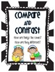 Comprehension Strategies and Skills Posters - Black