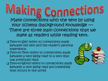 Comprehension Strategies for Great Readers~ Mini-Posters