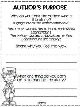 Teaching Comprehension Strategies with Favorite March Literature
