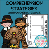 Teaching Comprehension Strategies with favorite November Literature!