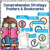Reading Comprehension Strategy Bookmarks and Posters
