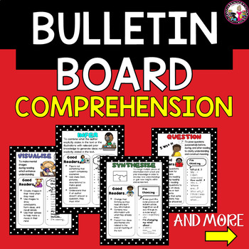 Comprehension Strategy Bulletin Board-LARGE & MORE!