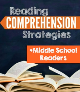 Comprehension Strategy Definitions For Middle School Readers