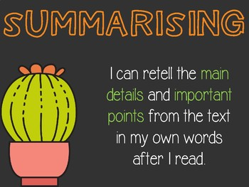 Comprehension Strategy Posters 2