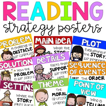 Reading Strategy Comprehension Posters