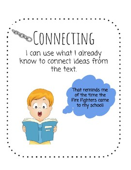 Comprehension Strategy Posters & Kid Cards