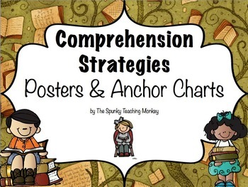 Comprehension Strategy Posters and Anchor Charts
