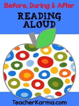 Comprehension Strategy ~ Read Aloud ~ Text Connections ~ Reading ~ Thinking