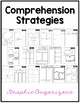 Comprehension Strategy Set: Posters, Bookmarks, and Graphic Organizers