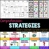 Comprehension Strategy Set: Posters, Bookmarks, and Graphi