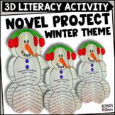 Comprehension Snowmen - A Winter Literacy Craftivity