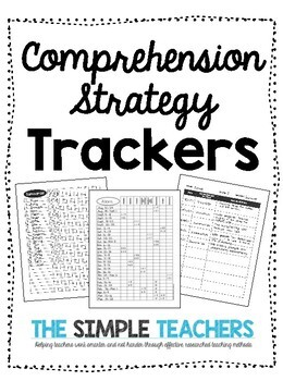 Comprehension Strategy Trackers