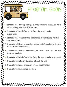 Comprehension Strategy Unit