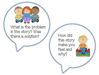 Comprehension Talk Cards