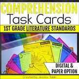 Comprehension Task Cards 1st Grade LITERATURE Standards