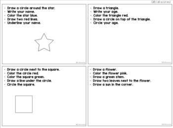 Comprehension Task Cards [ABLLS-R Aligned Q14-Q17]