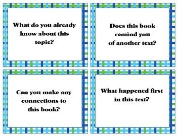 Comprehension Task Cards - Nonfiction