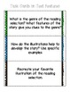Comprehension Task Cards on Text Structures