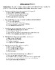 Comprehension Test - All My Answers (Messner)