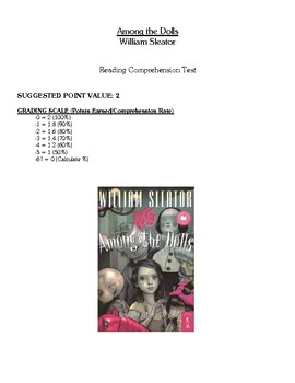 Comprehension Test - Among the Dolls (Sleator)